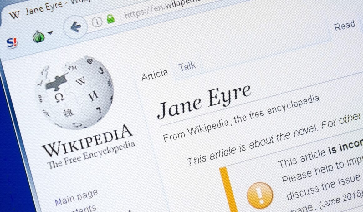 Jane Eyre Wikipedia Entry